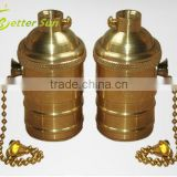 E27 E26 Brass Switch Socket for Pendant Lamp                                                                         Quality Choice
