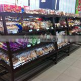 APEX supermarket custom make bread display rack