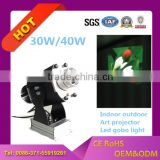 Ledy best selling 40w DJ led logo gobo outdoor waterproof IP65 advertising projection light