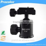 Professional aluminum desktop camera stand ball head, 360 degree panorama ball head                                                                         Quality Choice                                                     Most Popular