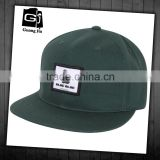 6 panel plain customized snapback 100 cotton cap and blank strap back snapback hats wholesale