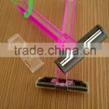 Hotel Disposable Salon Razor Electric Razor Without Lubricating Strips /famous brand brand name razor