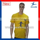 100% cotton custom t-shirt silk printing