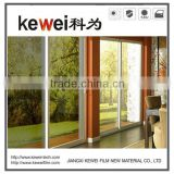 High reflective residential window film with high heat insulation,sun control window film for home decoration