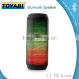 Colorful dazzling LED Wireless Bluetooth Speaker FM radio wireless speaker stereo BT speaker