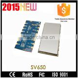 Embedded 2000M Long Distance 500mW SV650 Wireless RF FSK Transmitter Receiver Module 433 470 868 915MHz TTL/RS485