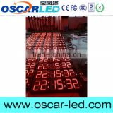 Factory cheap and good 6 digits time clock led