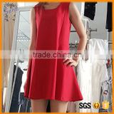 elegant terse fashion loose style dress for fat women                                                                                                         Supplier's Choice