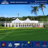 Aluminum alloy frame competitive price waterproof outdoor gazebo computer-designed clear wedding tent with stage decoration