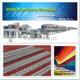 variety colors pvc coil mat with advanced machine embossing process PVC coil floor mat making machine