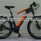 Light carbon fiber frame electric bike bicycle with mid motor                                                                         Quality Choice