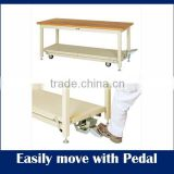Easy assembly dental lab work bench at reasonable prices , folding type available