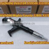 Denso Genuine & New Common Rail Injector 095000-5550 for HYUNDAI Mighty County 33800-45700