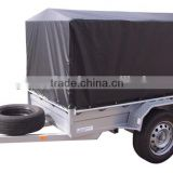 blue heavy duty smooth large sizepvc truck/trailer fabric cover /wagon cover