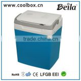 beila 29L high quality no compressor mini car fridge 220v 12v