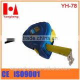 rubber jacket case tape measure 5 meter from china supplier                                                                                                         Supplier's Choice