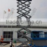 Hydraulic mobile scissor lifts platform for workshop maintain