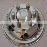 S/S 304L chrome wheel hub cover 17.5 wheel trim wheel simulator