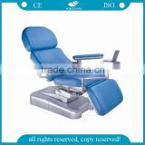 from China AG-XD101 CE ISO metal frame hospital electric blood drawing chair
