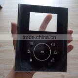 Touch Panel Lamp lighting Remote control Switch Wall glass Black White Panel Switch Wall glass