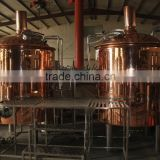 1000L beer brewing equipment of copper clading Draft beer making machine Mini beer brewery for sale