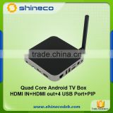 World Best RK3288 Cortex-A17 Quad Core 4K XBMC H.265 Hardware Decoding HDMI BT4.0 Module Bluetooth Android TV Box                                                                         Quality Choice
