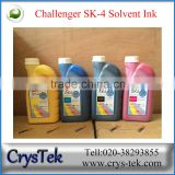 100% original Challenger ink sk4 solvent ink for spt print head