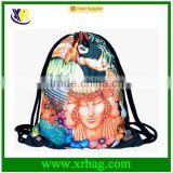 Women Mochila Man Gym bags Travel Backpack Toucan Printing Drawstring Bag for Shoes 3D