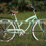 Colorful beach cruiser bike 6 speed bike beach cruiser bike bicycle 26 size bicyle price