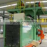 Cleaning Square Billet Equipment Roller Conveyor Type Sand Blasting Machinery in Qingdao