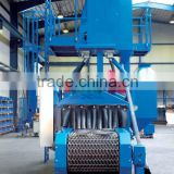 wire shot abrator descaling Top grade durable Mesh belt bead blasting equipment for sale