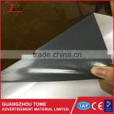 Grey adhesive double coated paper with bubble free PVC film vinyl sticker, self adhesive vinyl