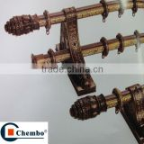 classical aluminum alloy roman curtain rod