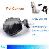 2015 scalable memory slot Pet Collar monitoring Camera For Puppy dog cat daily Life recording