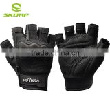 Black Fitness Special Combat Half Finger Outdoor Mountain Bike Mens Sports Gloves