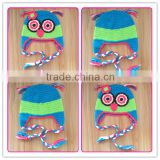 funny crazy cute kids handmade knit winter hats