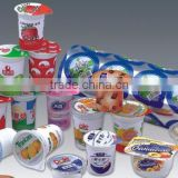 paper tube bowl/ biodegradable paper cups with aluminum foil lid                                                                                                         Supplier's Choice