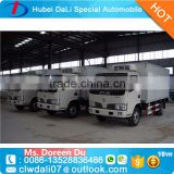 SHOCK PRICE small cooling van refrigerated freezer truck for sale