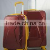 alibaba china supplier hot new baggage product for 2015 !!! ABS PC wheeled zipper luggage trolley                                                                         Quality Choice