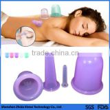 Silicone vacuum suction cup for massage /silicone vacuum massage cup