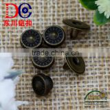 Supply Custom Pop Metal Jeans Button and Rivet for Garment