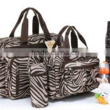 new arrival woman handbag baby bag wholesale leather handbag baby diaper bag high quality leather diaper bag