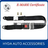 Hot selling 2 point simple safety seat belt (with E-Mark Certificate)