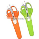 Durable Detachable Kitchen Scissors, Multifunction & Come-Apart Kitchen Shears with Magnetic Holder