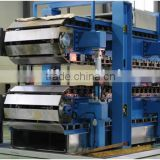automatic production line of garage door panel double belt conveyor