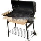 Garden outdoor use charcoal chimney smoker bbq grill Barrel barbecue grill