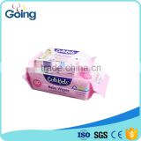 Economic packing 80s wet wipes with sticker cutekids wet tissue for baby alcohol free baby wipes