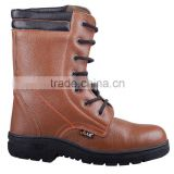high quality industrial iron steel liberty ladies high heel brown safety shoes work boot price models