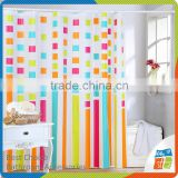 2016 latest design kids shower curtain