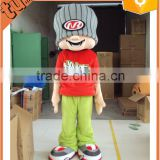 custom plush professional cartoon character mascot / plush mascot costumes for adults for performance/ promotion